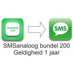 SMSanaloog prepaid bundel...