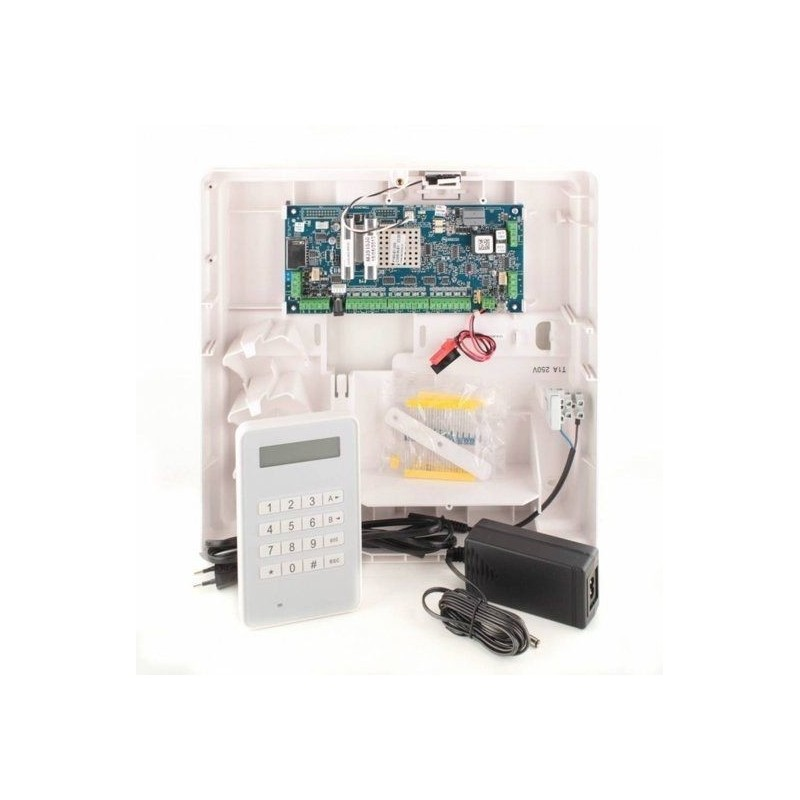 Alarmsysteem Galaxy Flex3-20 met mk8 bedienpaneel
