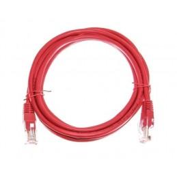 Netwerkkabel CAT5e 1m rood