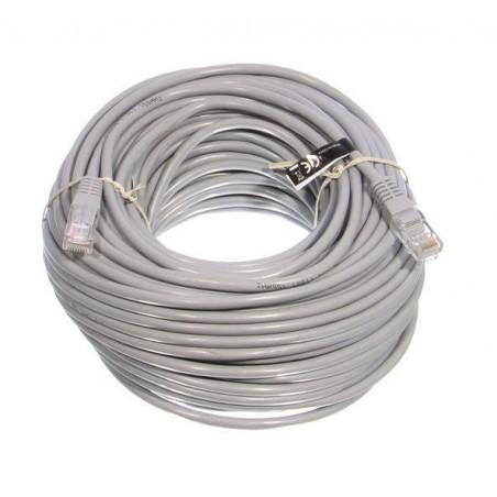 UTP kabel 30 meter cat 5E kleur grijs