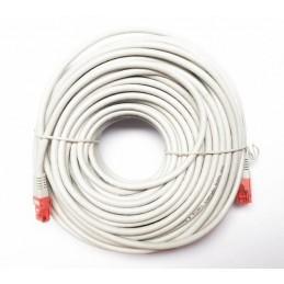 UTP kabel CAT6 met lengte van 10 meter kleur grijs