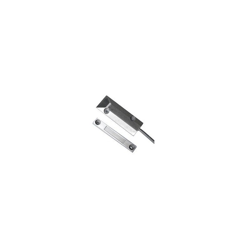 Roldeurcontact RD2308 standaard aluminium magneetcontact