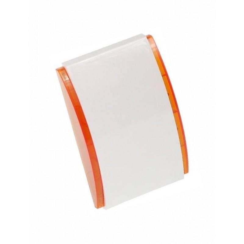 SPW-210 O Binnensirene met oranje omlijsting