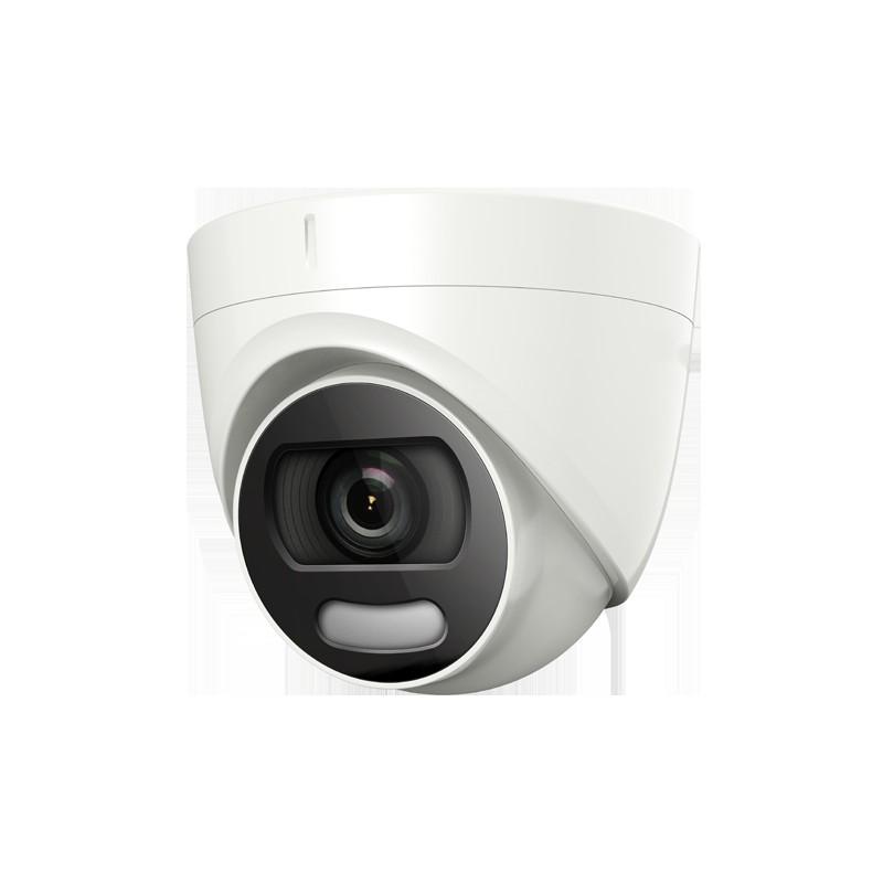 Camera HDTVI ColorVu 2 MP Full Time Color Turret Camera met vaste lens