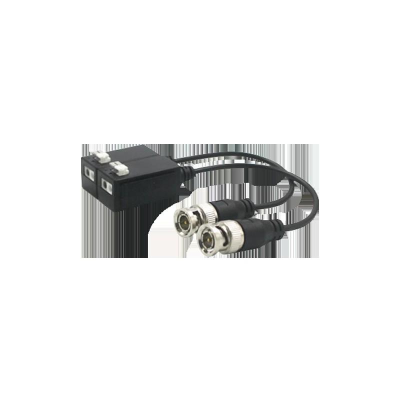 Videobalun BA612P voor HD tvi beveiligingscamera over UTP